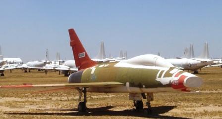 Aircraft on display at
