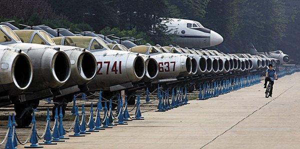 MiG-15 milik China di museum