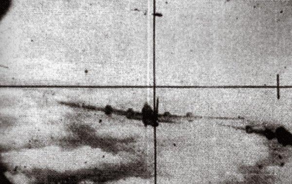 B-29 dalam target MiG-15 saat perang korea