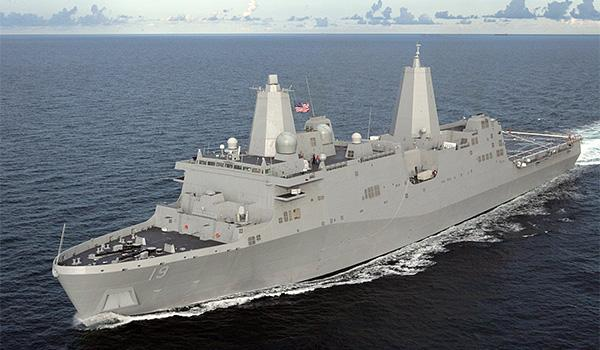 The amphibious dock ship USS Mesa Verde has recently arrived in the region as well, adding a rapidly deployable Marine Corps contingent to the task force.
