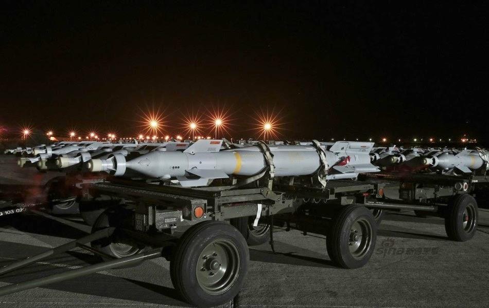 Royal Air force Tornadoes in Cyprus 1
