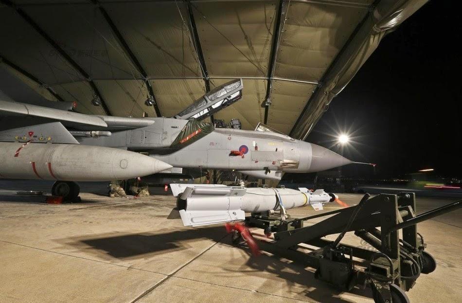 Royal Air force Tornadoes in Cyprus 2