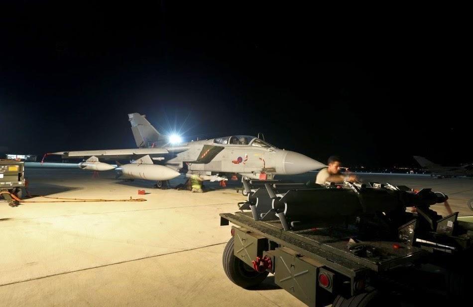 Royal Air force Tornadoes in Cyprus 3