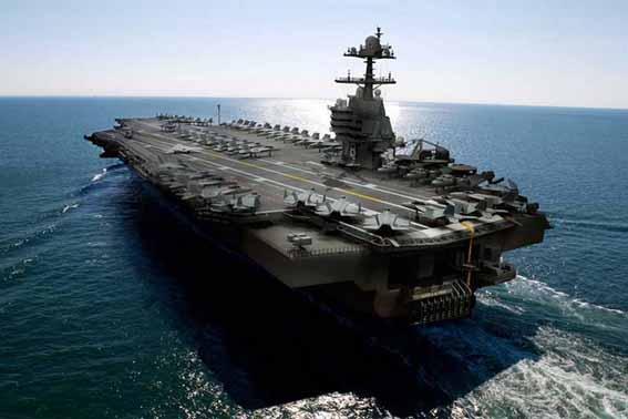 USS Gerald   kapal induk pertama kelas Ford