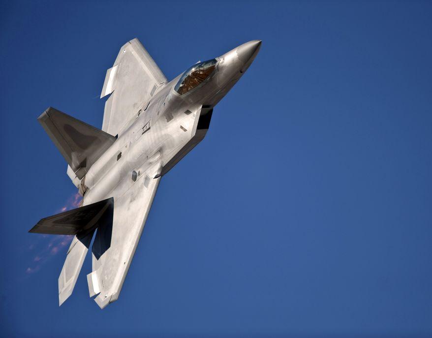 F-22 Raptor yang akan sangat bersaing dengan T-50 dalam superioritas udara