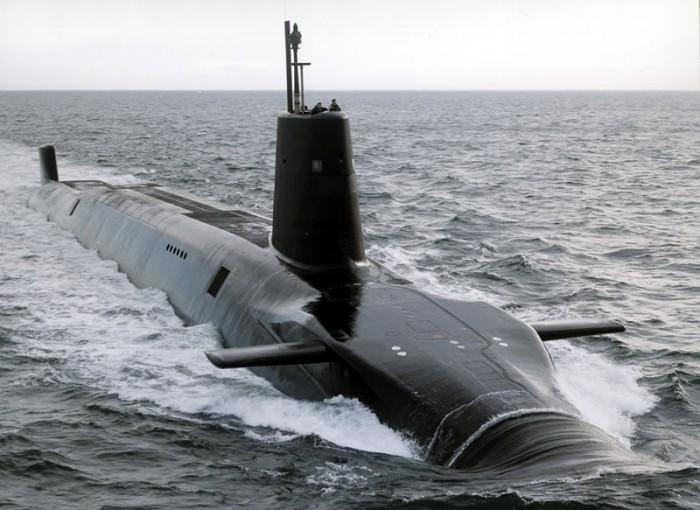 Kapal Selam Kelas Vanguard Inggris