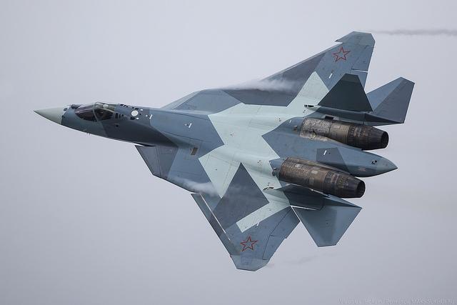 T-50 memiliki kelincahan lebih dibanding jet generasi kelima Amerika
