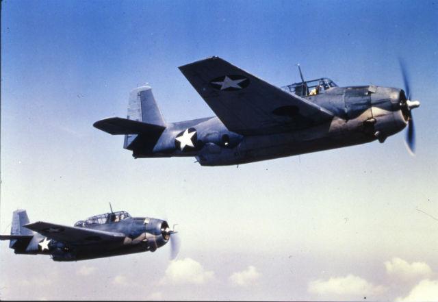 Grumman Avengers c. 1942-43