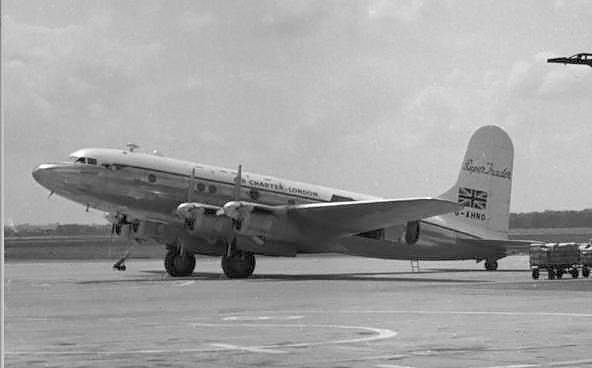 Avro Tudor IV B similar to Star Tiger and Star Ariel