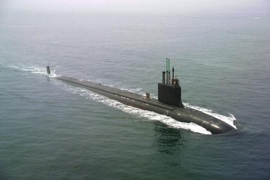 Kapal Selam Kelas Virgnia AS