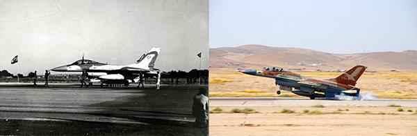 F-16 Israel dulu dan sekarang