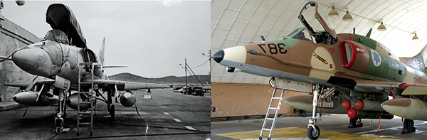 A-4N Israel dulu dan sekarang