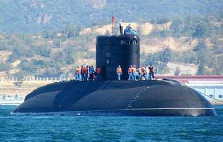 Kapal Selam kelas Kilo Vietnam