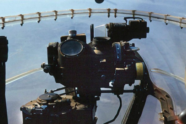 Norden_bombsight_in_Douglas_A-26C_over_Korea