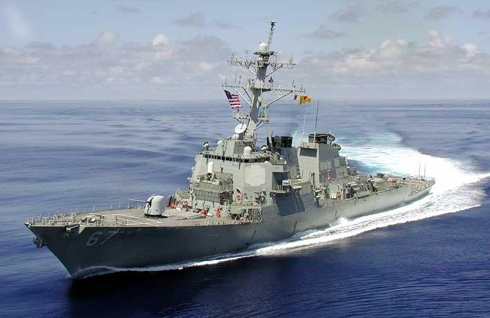 Destroyer Kelas Arleigh Burke USS Cole