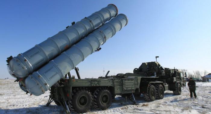 Sistem rudal anti udara S-400