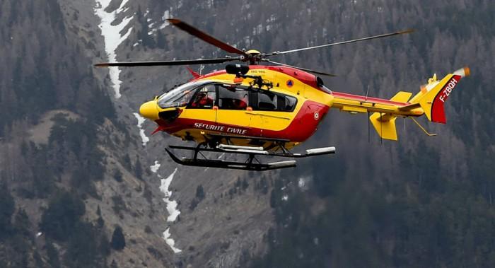 Tim penyelamat kecelakaan A320 Germanwings