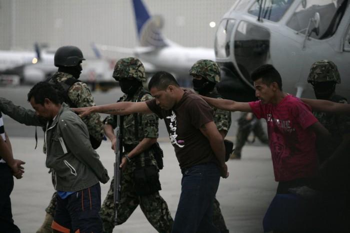 Penangkapan sejumlah anggota Zetas