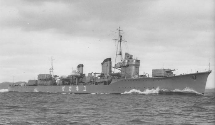 kapal Destroyer Kelas Kagerō,