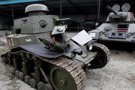 T-18 yang direstorasi