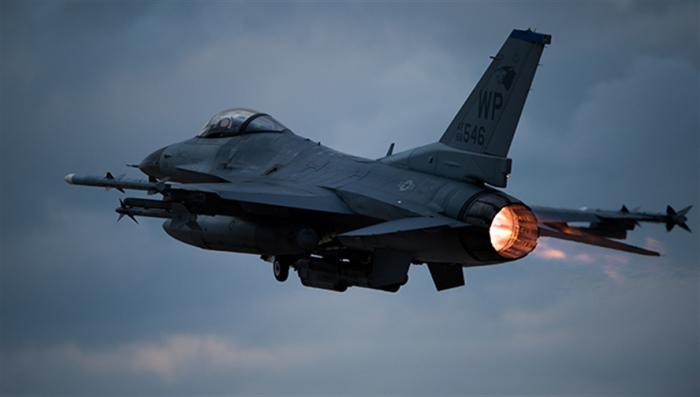 f-16  Fighter Squadron 35
