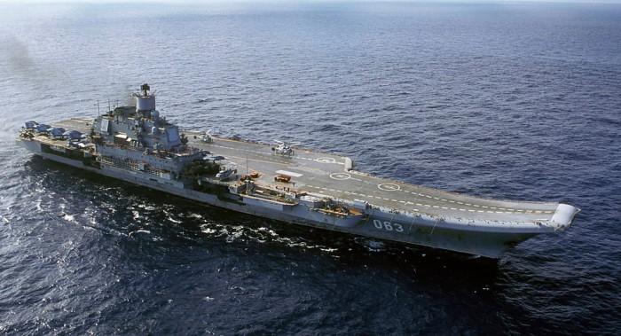 Kapal induk Rusia Admiral Kuznetsov