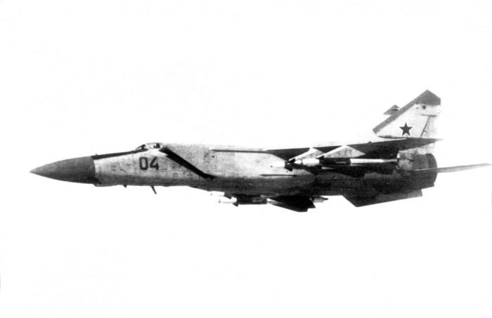 MiG-25 Irak