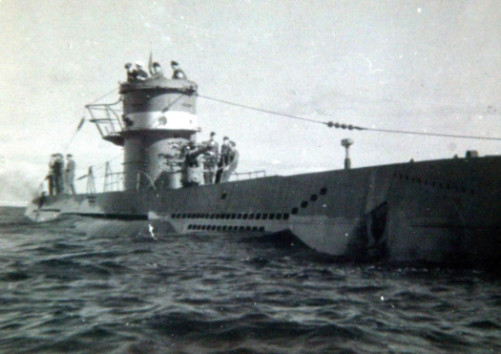 The U-boat was scuttled by its crew off the Scottish coast. Picture: PA
