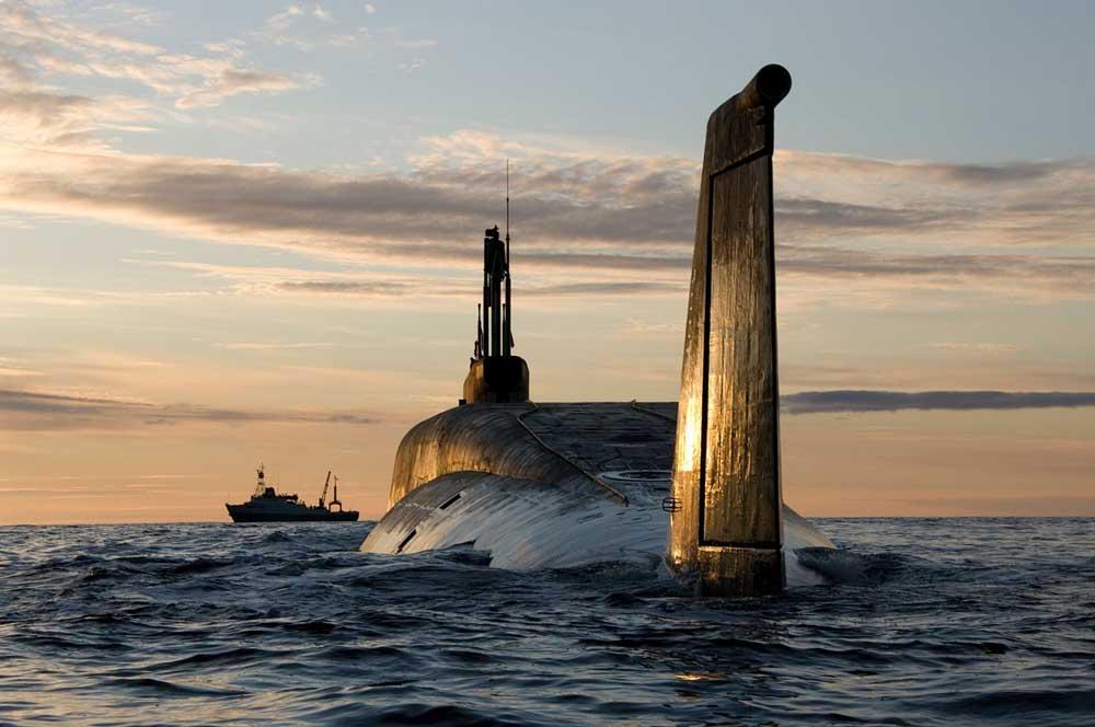 Kapal Selam Kelas Borei Rusia