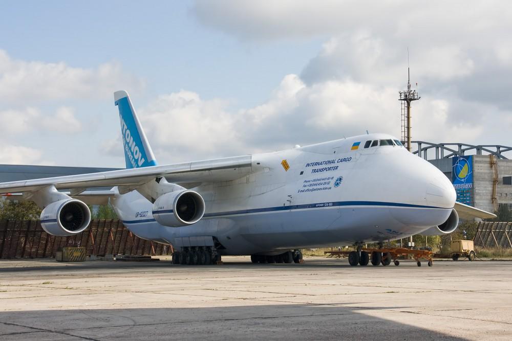 terbesar Antonov AN 124 Ruslin