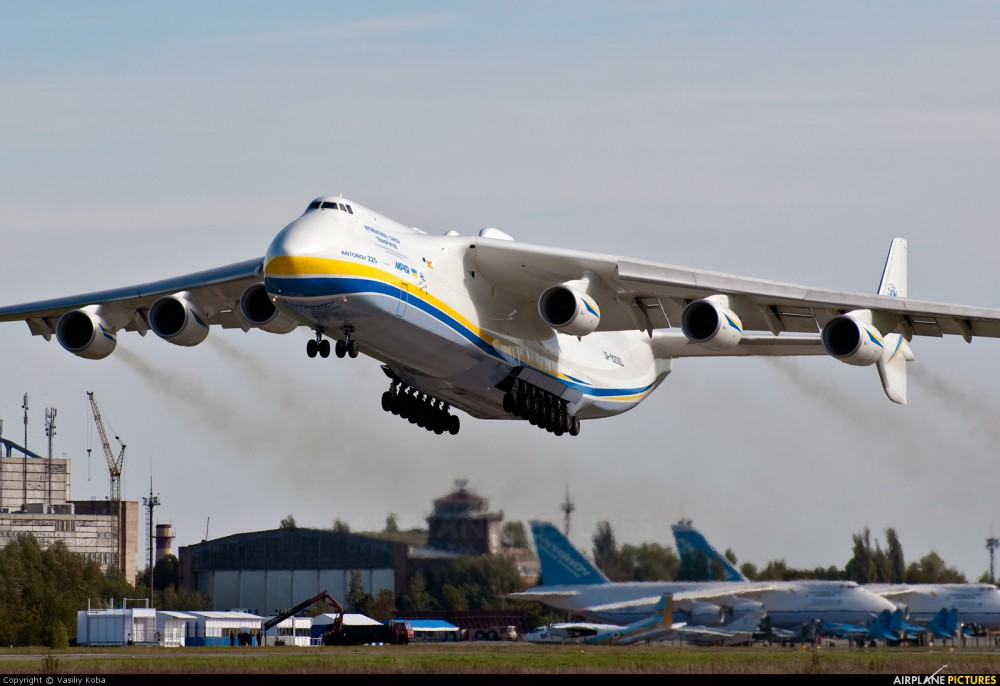 terbesar Antonov An 225 Mriya