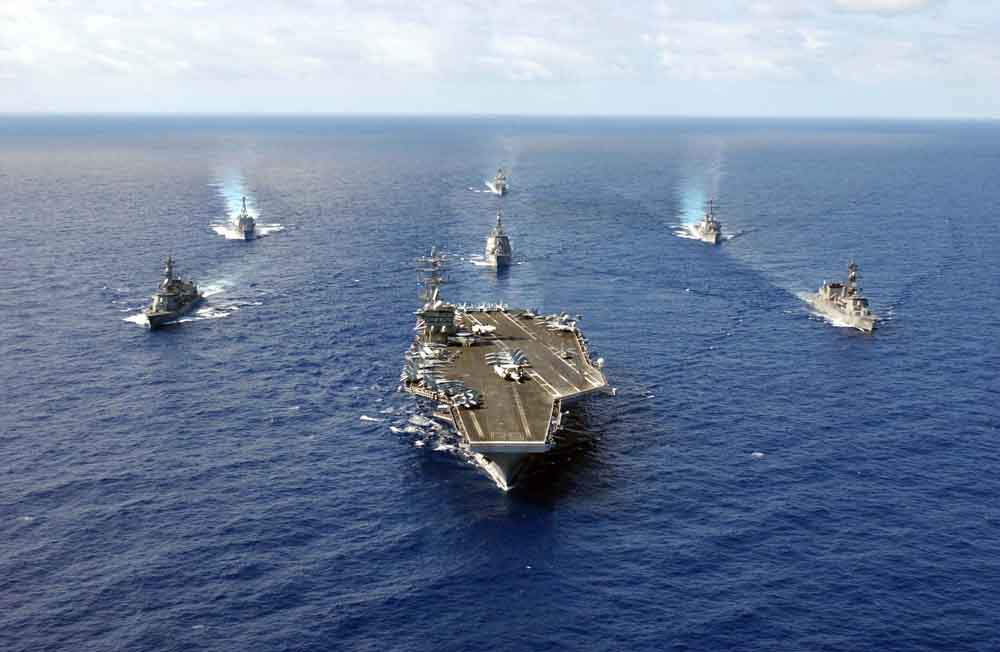 US Navy Carrier Battle Group