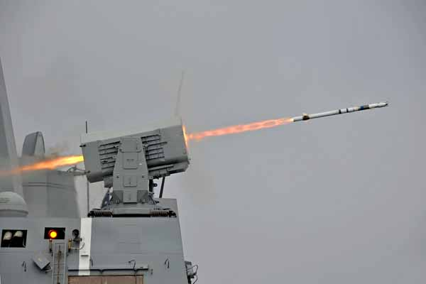 Rolling Airframe Missile (RAM)