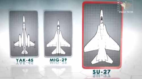 Sukhoi with their secondary conventional wing design