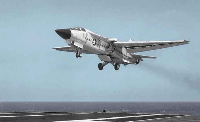 The F-111B which was rejected in favor of a new design