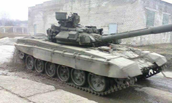 T-90 modifikasi 1992, kita dapat dengan jelas melihat kesamaan dari menara dari prototip ke-6 Object 187, namun lambung sama dengan T-72B.