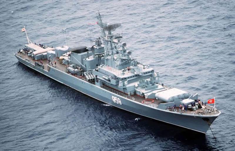 Soviet merasa bahwa Kelas Krivak terlalu kecil untuk menjadi bagian dari armada ekspedisi.