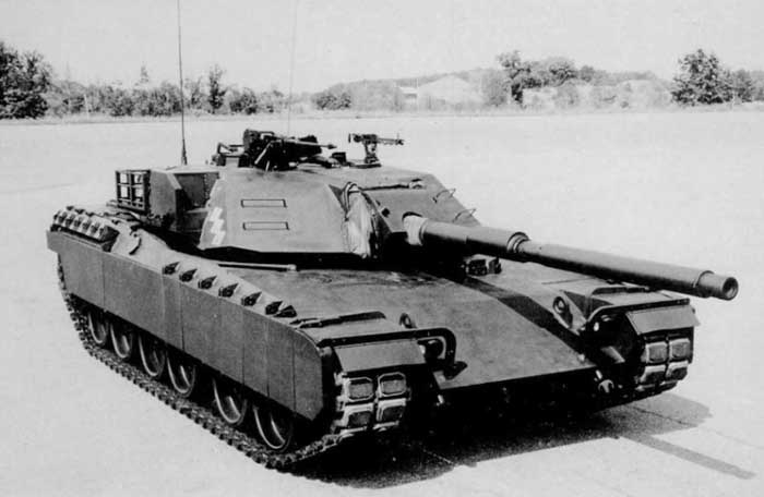 XM1 yang diajukan GM untuk kompetisi XM1