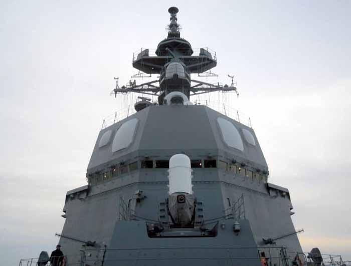 Phalanx CIWS dan radar AESA