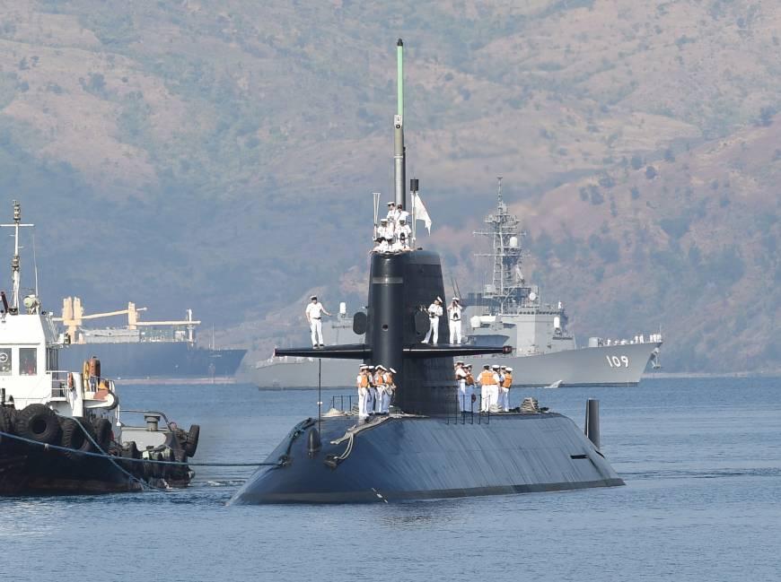 Kapal Selam Diesel Listrik Jepang