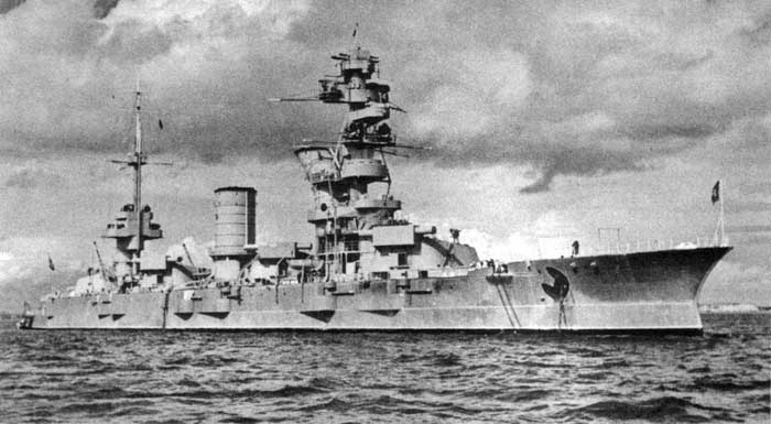 Battleship Marata yang ditenggelamkan Rudel
