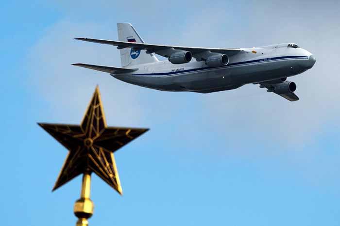 pesawat transportasi rusia 8