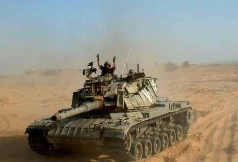 Tank Magach 6 Israel
