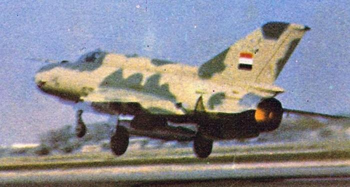 Ini adalah salah satu dari foto langka yang memperlihatkan MiG-21bis yang dikirimkan ke Irak mulai pada tahun 1978 / Koleksi foto Tom Cooper