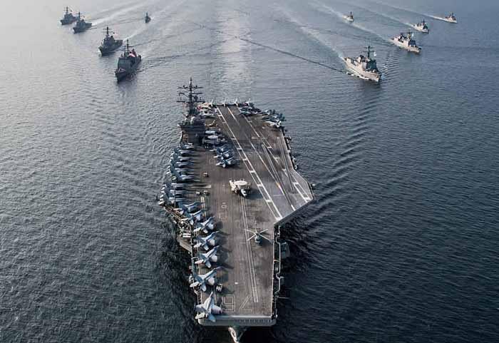 USS Reagan NAVY