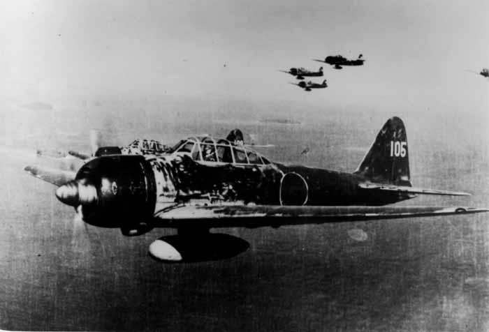 Pesawat ringan A6M3 Zero Jepang
