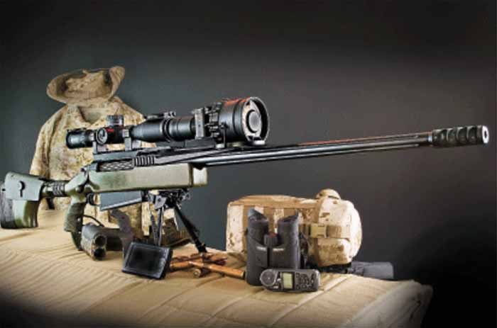 Tac senapan sniper pemegang rekor terjauh