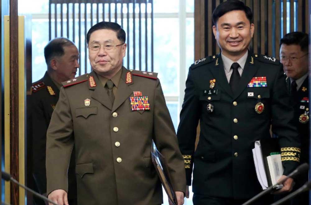 Di Tengah Isu Munculnya Aktivitas Rudal Dua Korea Kembali Bertemu