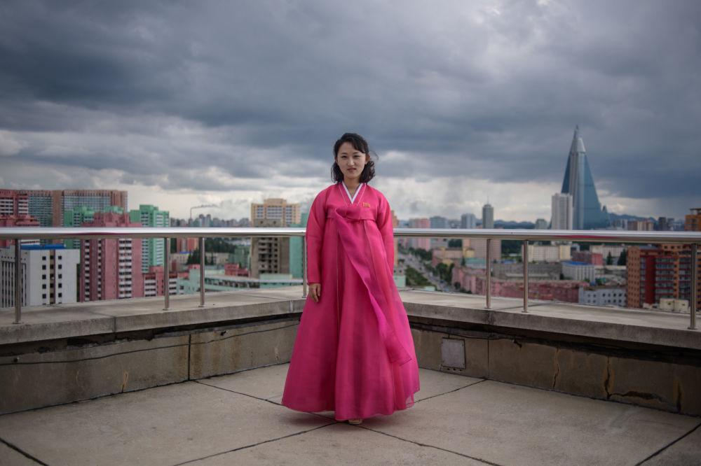 kecantikan dan kekuatan wanita korea utara